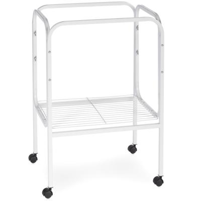 SP444W BIRD CAGE STAND - WHITE