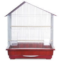 25 x 21 Keet/Tiel Cage 2pk / Offset House Style Roof