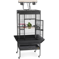 3152BLK Select Bird Cage - Black