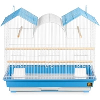 SP1804TR-1 Triple Roof Bird Cage - Blue