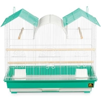 SP1804TR Triple Roof Bird Cage - Green