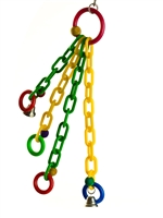 "#2005 Monkey Chains (19"" X 8"")"