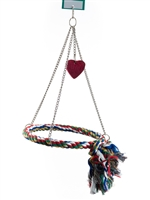 "#2007 Large Rope Swing/Ring (16"" X 10.5"" Dia)"