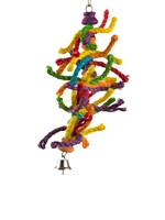 "#2026 Colorful Caterpillar  (13"" X 6"")"