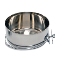 #8003 Shallow Stainless Steel Clamp-on Dish
