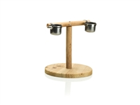 #8009 Round Base T Stand w/cups