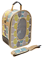 Small - Soft Sided Travel Carrier, TAN LEAF