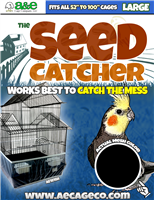 "Large Seed Catcher 52"" to 100"" (13"" high)"