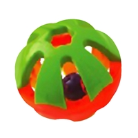 Extra Large Round Rattle Foot Toy - 5""