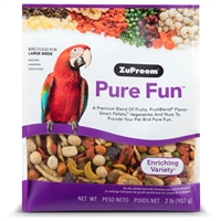 PURE FUN BIRD FOOD FOR LARGE BIRDS 2 LB.