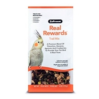 REAL REWARDS TRAIL MIX MEDIUM BIRD TREATS 6 OZ.
