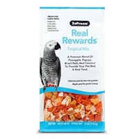 6 0Z. REAL REWARDS TROPICAL MIX LARGE BIRD TREATS