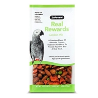 REAL REWARDS GARDEN MIX LARGE BIRD TREATS 6 OZ.
