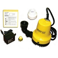 Barnes Submersible Pump with Battery Backup - 100940