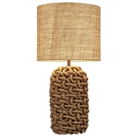 Rope Table Lamp L120