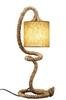 Rope table lamp L136