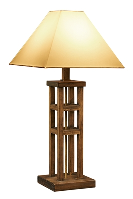 Rustic Modern Wooden Lamp L222
