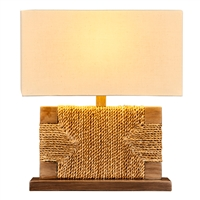 Abaca Rope Woven Lamp L233