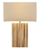 Raw Teak Table Lamp