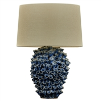 Blue Original Ceramic Lamp L451B