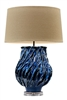 Blue Wave Original Ceramic Lamp L458B