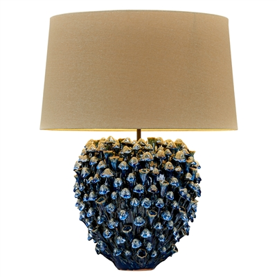 Sea Mushroom Vase Lamp Blue Effect L475