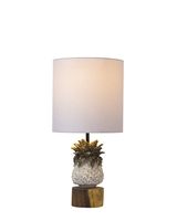 Small Pineapple Ceramic Lamp L476W