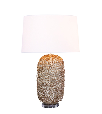 Similan Cream Ceramic Lamp