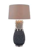 Large Pineapple Ceramic Lamp L491B