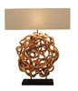 Sculpted Vine Lamp