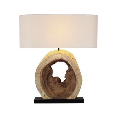 Natural Acacia Wooden Lamp L683