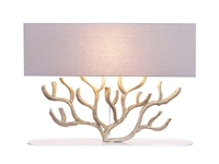 CORAL SHAPED VINE WOODEN TABLE LAMP L716A
