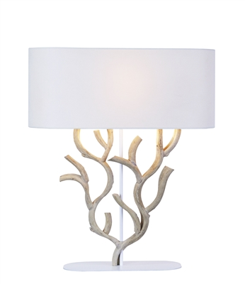 CORAL SHAPED VINE WOODEN TABLE LAMP L718A