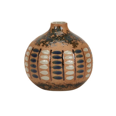 Earth Tone S.W Look Ceramic Vase V201M