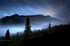 Landscape Photography | Fog over the Denali Valley