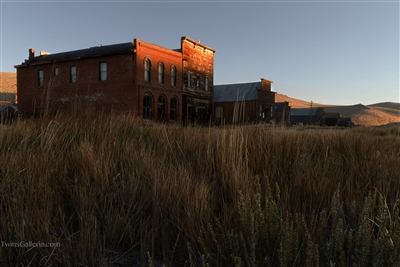 Fine Art Photography Print of Sunrise at Bodie Ghost Town California