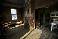 Interior of Abandoned House in Bodie | Fine Art Photography of California