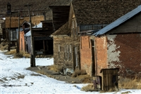 Winter Street Scene | Fine Art Photography of California Ghost Town