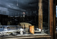 Window View | Rustic Fine Art Photography Prints of California Ghost Town