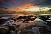 Landscape Photography Prints | Reflections of Wonder at Sunset Beach