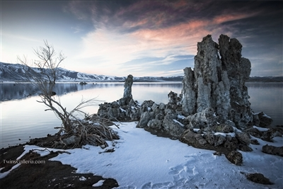 Fine Art Photography | Calm Winter Night at Mono Lake | Landscape Photography