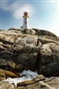 Landscape Photography | Lighthouse at Peggy's Cove Nova Scotia Canada | Fine Art Photography