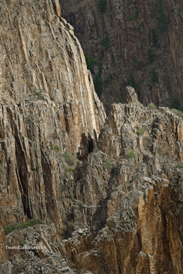 Landscape Photography | Steep Cliffs in Black Canyon