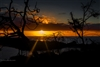 Landscape Photography | Galapagos Islands | Sunrays at Sunset