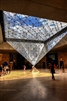 Upside down Pyramid in Louvre Museum