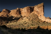 Arches National Park Landscape Photography Print: Cliffs at Sunset