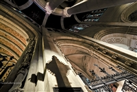 NYC Fine Art Photography Print of St John the Divine Cathedral Ceiling