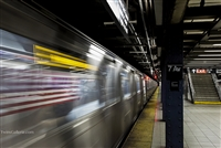 New York Fine Art Photography Print of NYC Subway Scene