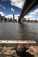 NYC Fine Art Photography Print of Anchor at Brooklyn Bridge