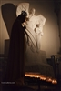 NYC Fine Art Photography Print of Statue Silhouette in Church